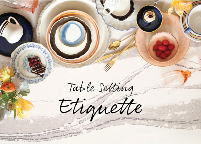 A Guide to Table Setting Etiquette
