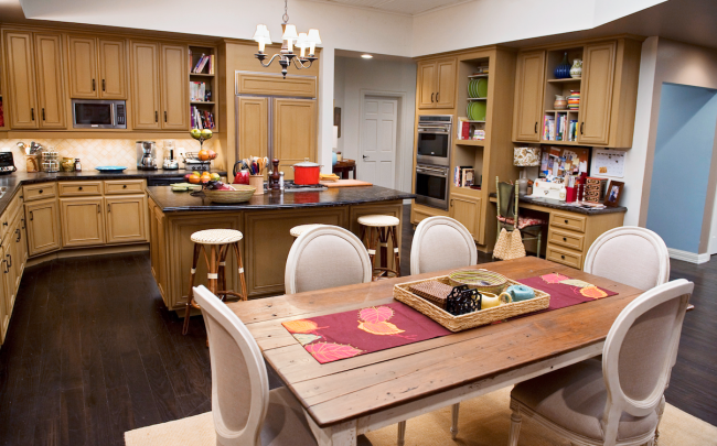 ModernFamily kitchen