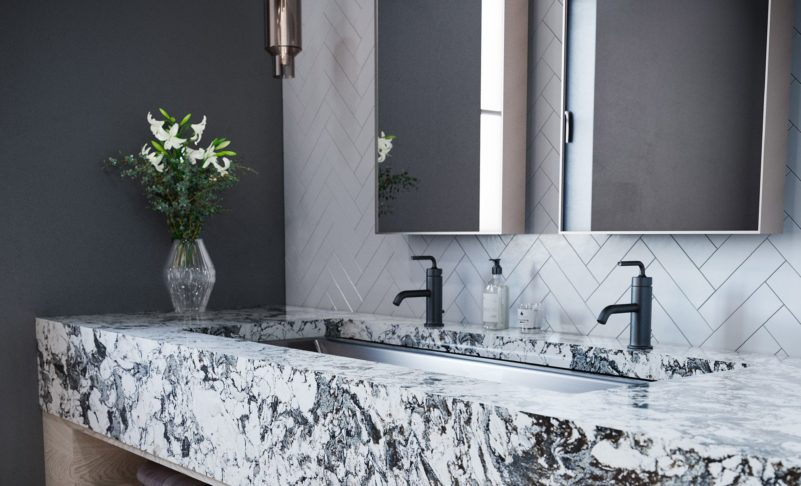 Cleaning Your Kitchen and Bathroom Countertops