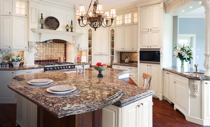 Shaping your Countertop Island