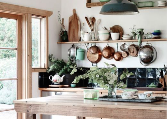 The Rustic Chic Kitchen