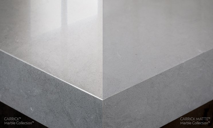 Introducing Cambria Matte Floform Countertops