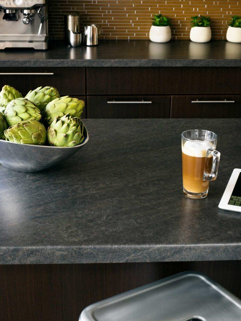 Laminate-Arborite-Cinder-Slate-kitchen