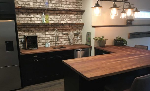 Designing with Wood Countertops