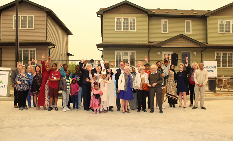 Six families received keys to Habitat Homes
